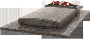 Monument fun raire avec jardini re granit himalaya for Tarif chambre funeraire