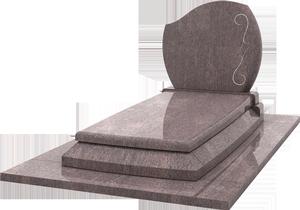 monument fun raire avec st le gravure granit rose dalva pascal leclerc. Black Bedroom Furniture Sets. Home Design Ideas