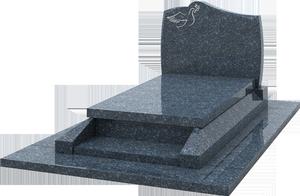 s pulture st le avec gravure prie dieu granit labrador bleu pascal leclerc. Black Bedroom Furniture Sets. Home Design Ideas