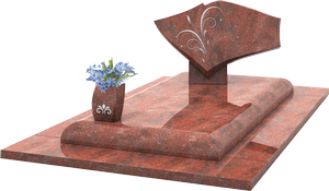 Monument fun raire moderne st le vase granit for Tarif chambre funeraire