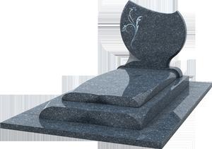 monument fun raire st le grav e granit labrador bleu pascal leclerc. Black Bedroom Furniture Sets. Home Design Ideas
