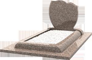 st le sur monument fun raire moderne granit rose hydra pascal leclerc. Black Bedroom Furniture Sets. Home Design Ideas
