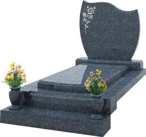 s pulture avec st le grav e vase granit labrador bleu pascal leclerc. Black Bedroom Furniture Sets. Home Design Ideas