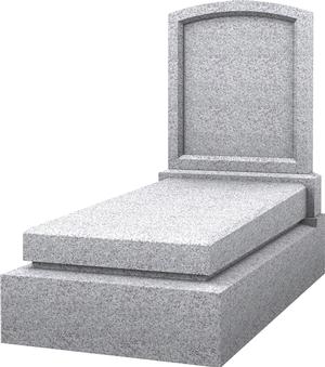 Monument fun raire tombeau avec st le granit blanc perle for Tarif chambre funeraire