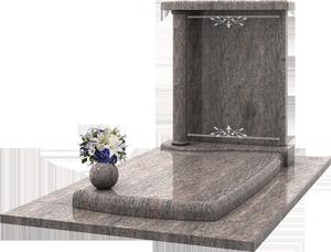 chapelle fun raire avec st le vase en granit pascal leclerc. Black Bedroom Furniture Sets. Home Design Ideas