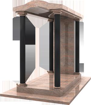 monument fun raire chapelle granit indian juparana noir des indes pascal leclerc. Black Bedroom Furniture Sets. Home Design Ideas