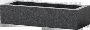 Jardini re fun raire en granit noir d afrique pascal leclerc for Tarif chambre funeraire