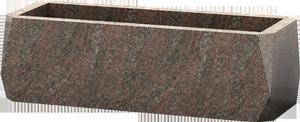 Jardini re fun raire en granit rose pascal leclerc for Tarif chambre funeraire