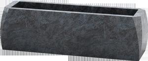 Jardini re pour cimeti re en granit gris pascal leclerc for Tarif chambre funeraire