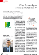 Article Magazine Résonance Août / Septembre 2011