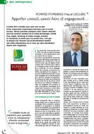 Article Magazine Résonance Déc. 2013 /Janv. 2014